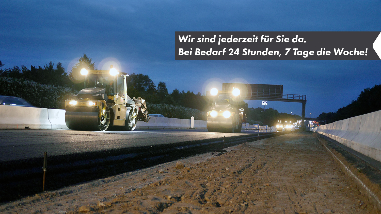 AM-NRW Asphaltmischwerk-24 Stunden Service