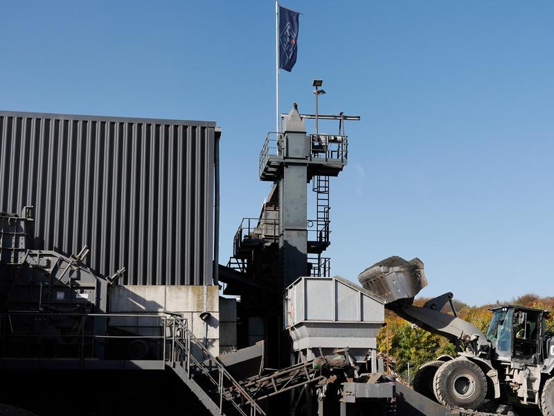 Asphaltmischwerk-NRW-Asphalt Recycling